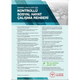 Dernek Lokalleri İçin Kontrollü Sosyal Hayat Çalışma Rehberi Afişi