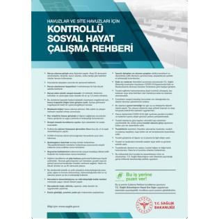 Havuzlar ve Site Havuzları İçin Kontrollü Sosyal Hayat Çalışma Rehberi Afişi