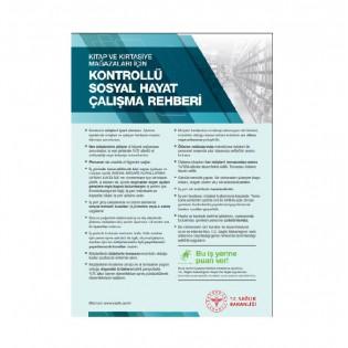 Kitap ve Kırtasiye Mağazaları İçin Kontrollü Sosyal Hayat Çalışma Rehberi Afişi