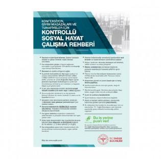 Konfeksiyon, Giyim ve Tuhafiyeler İçin Çalışma Rehberi Afişi