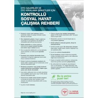 Oto Galeriler ve Oto Kiralama Şirketleri İçin Kontrollü Sosyal Hayat Çalışma Rehberi Afişi