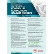 Restoran, Lokanta, Kafe, Pastane Gibi Yeme İçme Yerleri İçin Kontrollü Sosyal Hayat Çalışma Rehberi Afişi