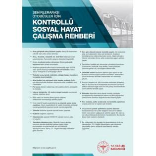 Şehirler Arası Otobüsler İçin Kontrollü Sosyal Hayat Çalışma Rehberi Afişi