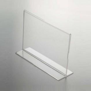 T Tipi Pleksi Föylük/Etiketlik Yatay A6 (15x10cm)