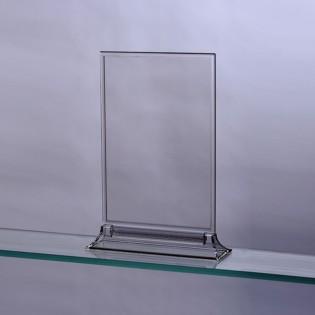 Upright Pleksi Dikey Föylük/Etiketlik  A6 (10x15cm)