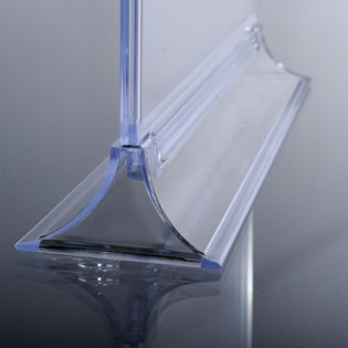 Upright Pleksi Dikey Föylük/Etiketlik  A4 (21X30cm) -10'lu PAKET
