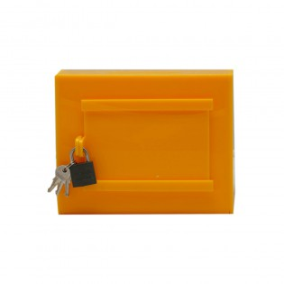 Tipbox - Bahşiş Kutusu Sarı - 15x10xh12cm