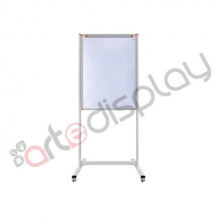 Mobil Yazı Tahtası 65x100 Flip Beyaz