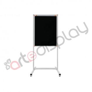 Mobil Yazı Tahtası 65x100 Flip Siyah