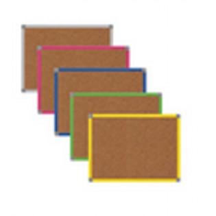 Renkli Çerçeveli Mantar Pano 30x40 cm