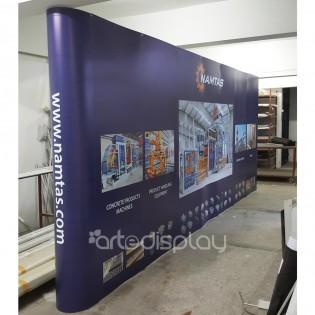 Örümcek Stand 7 Panel Düz (3x7) Hardcase