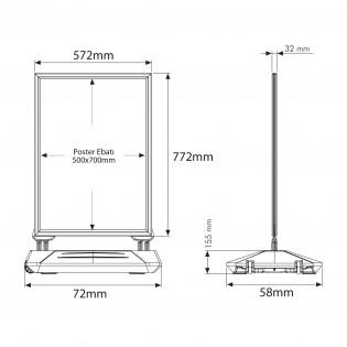 Wind Pro B2 (50x70cm)