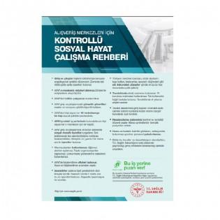 Alışveriş Merkezleri İçin Kontrollü Sosyal Hayat Çalışma Rehberi Afişi