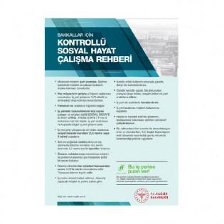 Bakkallar İçin Kontrollü Sosyal Hayat Çalışma Rehberi Afişi