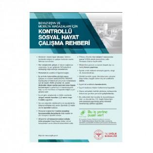 Beyaz Eşya ve Mobilya Mağazaları İçin Kontrollü Sosyal Hayat Çalışma Rehberi Afişi