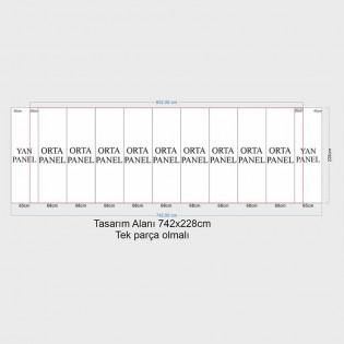 Örümcek Stand 9 Panel Oval (3x9) Hardcase