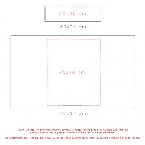 Deluxe Oval Tanıtım Standı