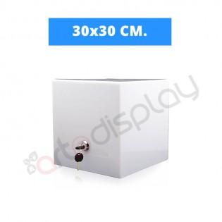 Beyaz Dilek ve Şikayet Kutusu 30x30cm