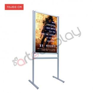 Infoboard B1 Tek Taraflı Ayaklı Poster Pano