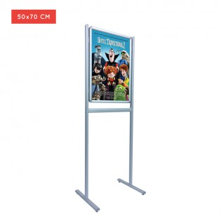 Ayaklı Poster Pano 50x70cm Infoboard B2 Tek Taraflı