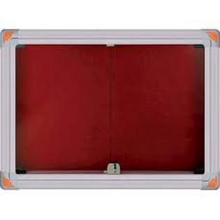 Kilitli Sürgülü Kapak İlan Panosu 90x180