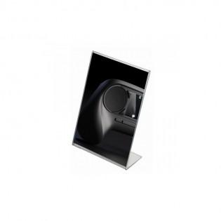 L Tipi Pleksi Föylük/Etiketlik  Dikey A6 (10x15cm)