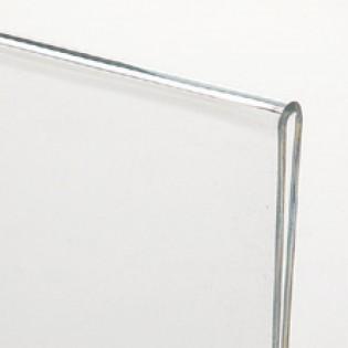 L Tipi Pleksi Föylük Etiketlik Fiyatlık Dikey 10x21cm - 10lu Paket