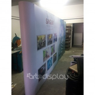 Örümcek Stand 6 Panel Düz (3x6) Hardcase