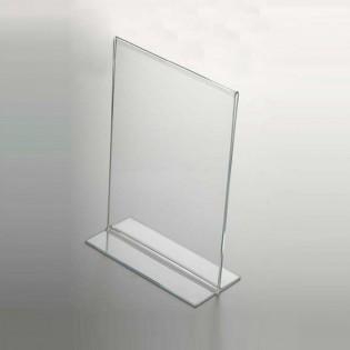 T Tipi Pleksi Föylük/Etiketlik Dikey A5 (15x21cm)
