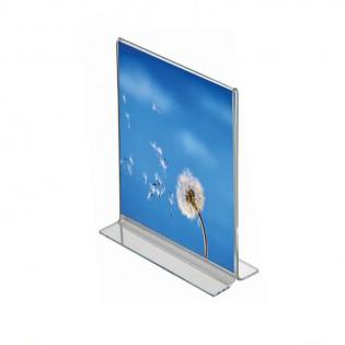 T Tipi Pleksi Föylük/Etiketlik Dikey A6 (10x15cm)