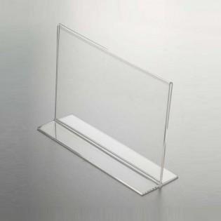 T Tipi Pleksi Föylük/Etiketlik Yatay A5 (21x15cm)