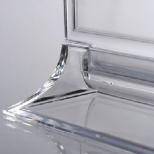 Upright Pleksi Dikey Föylük A6 (10x15cm) -10'lu PAKET