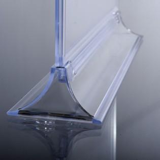 Upright Pleksi Dikey Föylük/Etiketlik  A5 (15x21cm) -25'li PAKET
